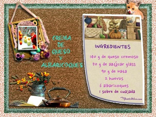 Crema de queo y albaricoques Etiqueta ingredientes_Fotor