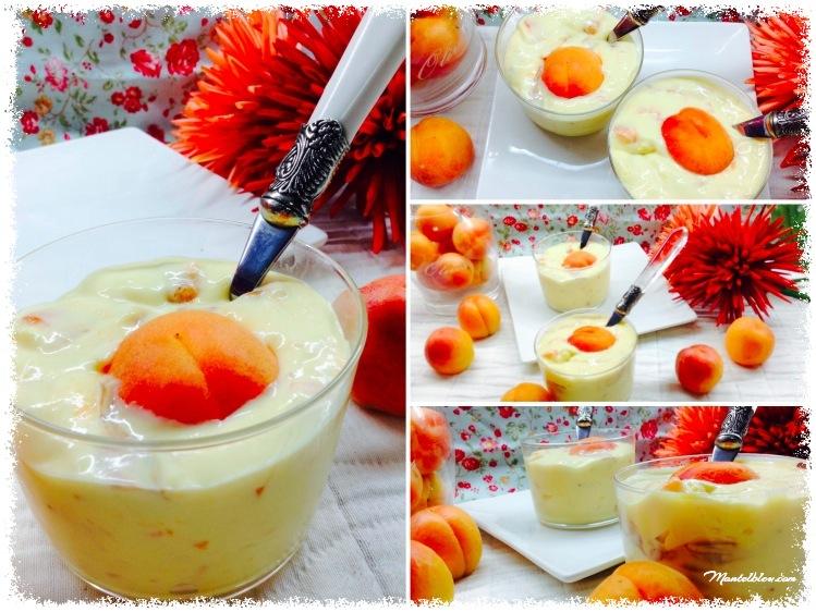 Crema de queso y albaricoques 4_Fotor