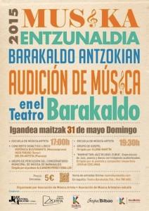 Musica en el teatro de Barakaldo Pasa y te cuento