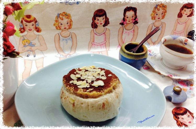 Tarta de queso con sabor a donuts. 1