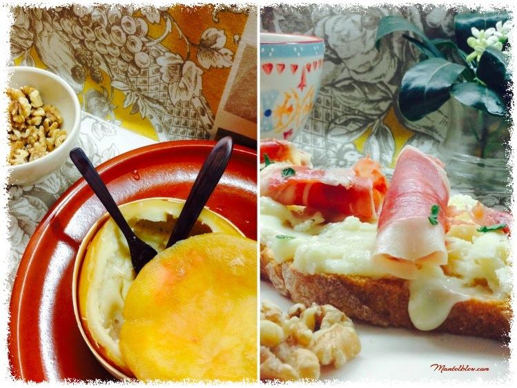 Tosta con torta del -casar y jamón 6_Fotor