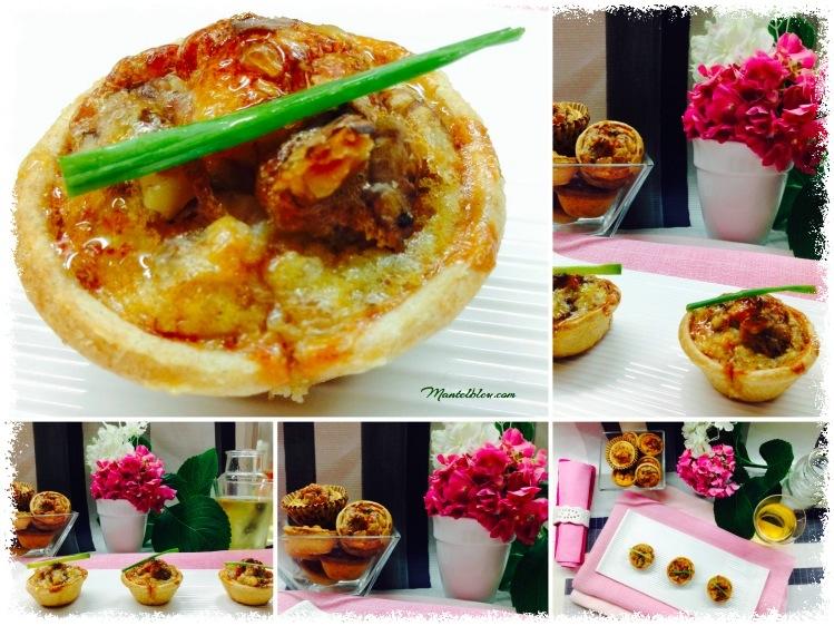 Tartaletas de quiche lorraine con jamón y nueces 5_Fotor
