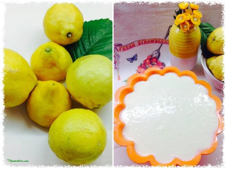 Tarta de limón Ingredientes_Fotor
