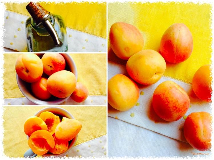Bizcochitos de aceite de oliva con albaricoques Ingredientes_Fotor