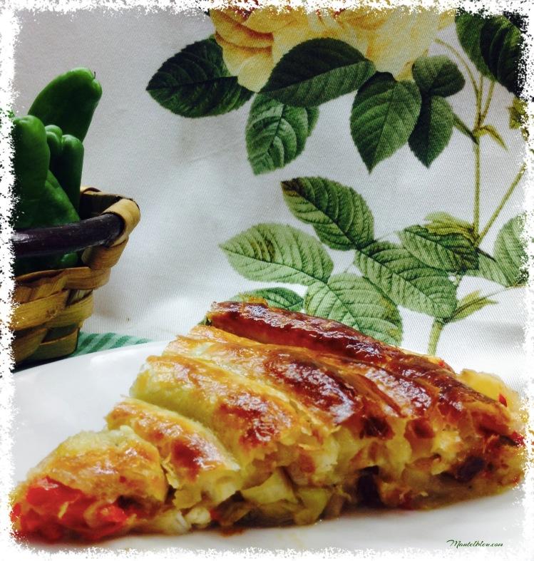 Caracola de verduras y bacalao. 3