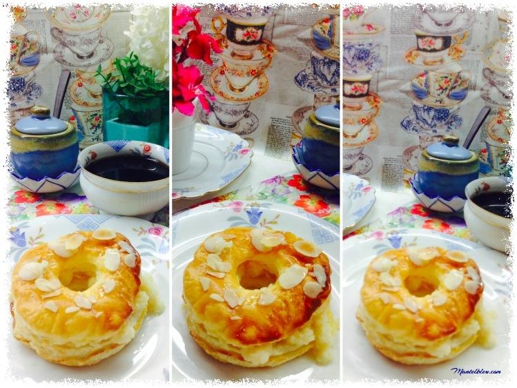 Donuts de hojaldre almibarado rellenos de crema 3_Fotor
