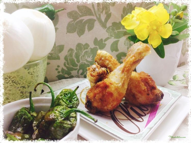 Jamoncitos de pollo frito picante 1