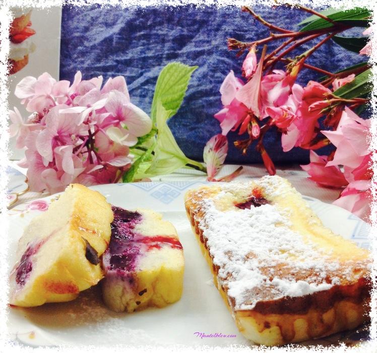 Tartaletas de queso fresco y ciruelas 5