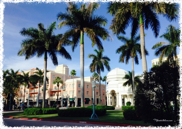 Mizner Park Palm Beach Florida
