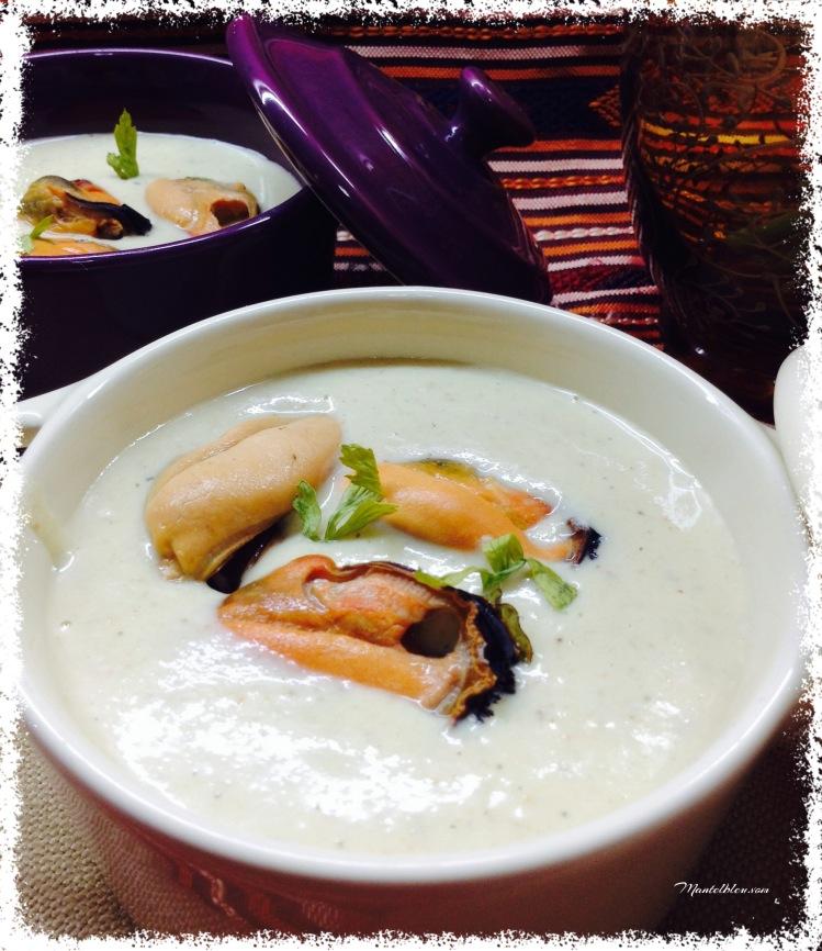 Sopa fría de mejillones 1