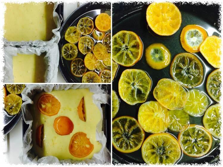 Bizcocho de mandarina confitada elaboración_Fotor