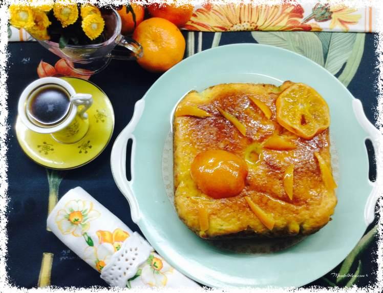 Bizcocho de mandarina confitada 1