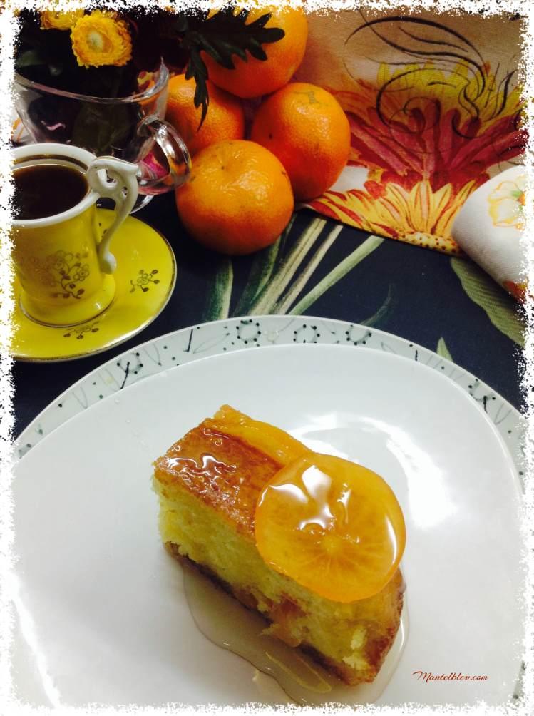 Bizcocho de mandarina confitada 7