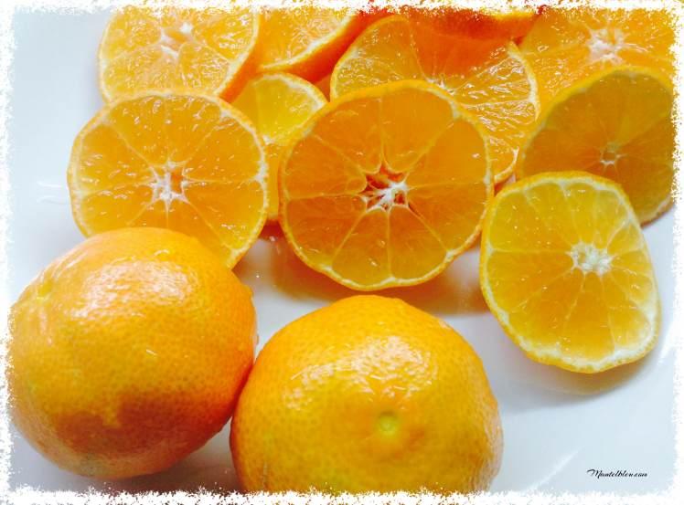 Bizcocho de mandarina confitada Ingredientes