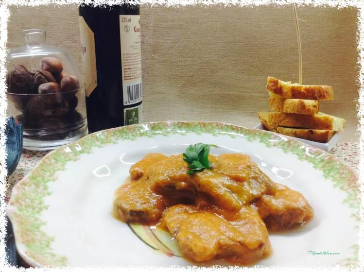 Carrilleras con salsa de verduras 2