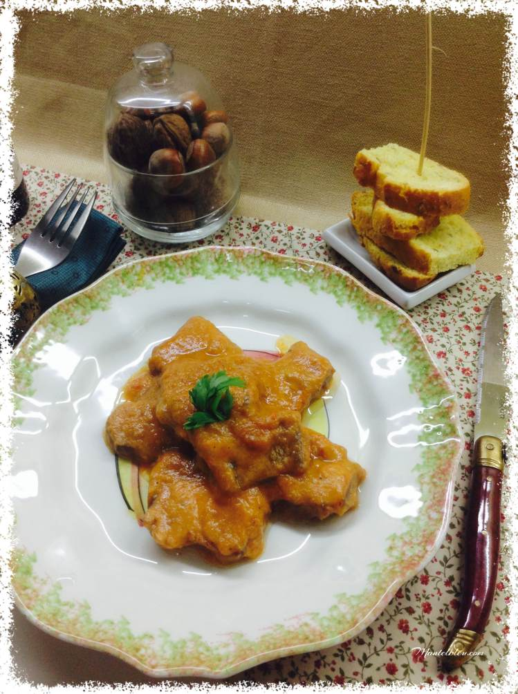 Carrilleras con salsa de verduras 4