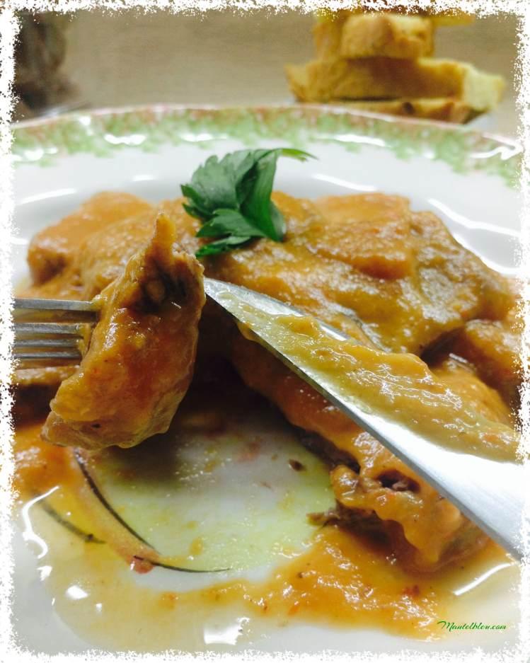 Carrilleras con salsa de verduras 6