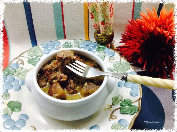 Guiso de carne con champiñones 4