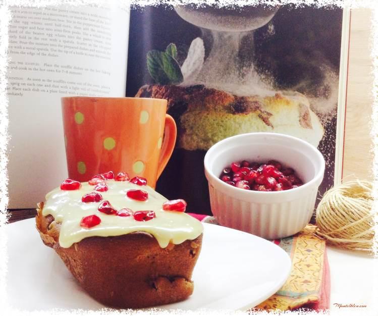 Baño Blanco Para Bizcocho:Tarta de frutas y mango con chocolate de zumo de mandarina