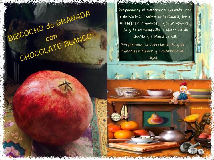 Bizcocho de granada con chocolate blanco etiqueta_Fotor