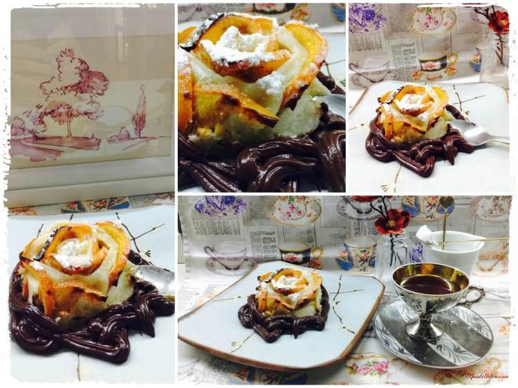 Pastelitos crujientes de caqui con chocolate 4_Fotor