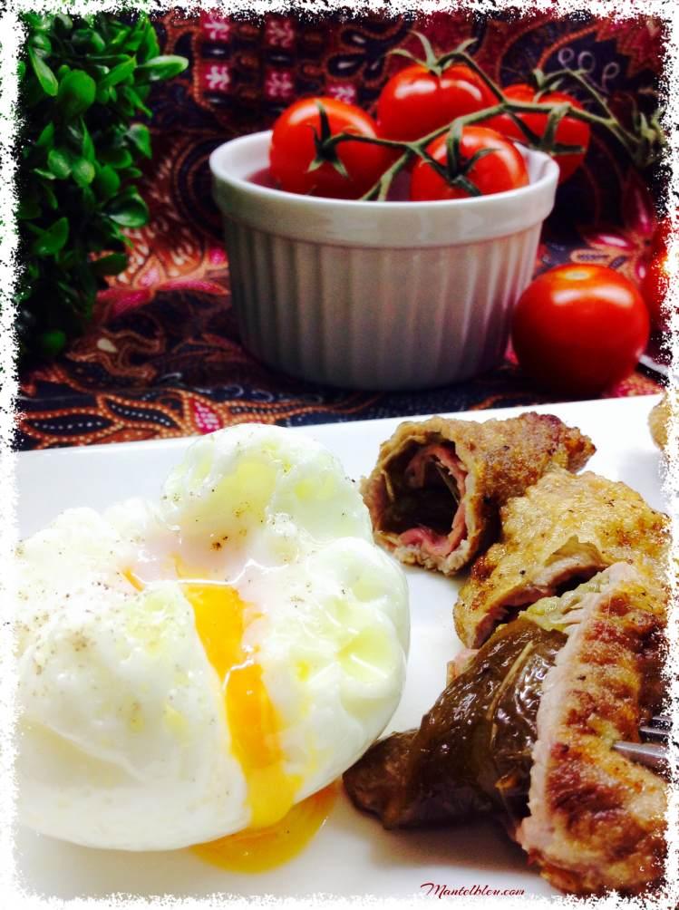 Rollitos de carne rebozada con pimientos verdes 6