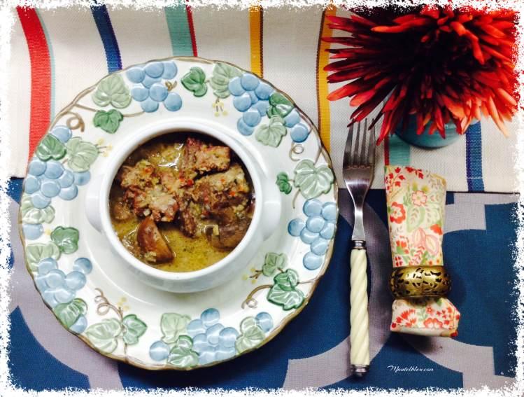 Guiso de carne con champiñones 3
