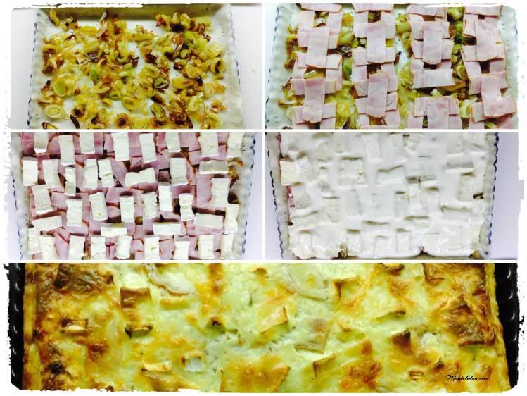 Tarta crujiente de queso Brie Elaboración_Fotor