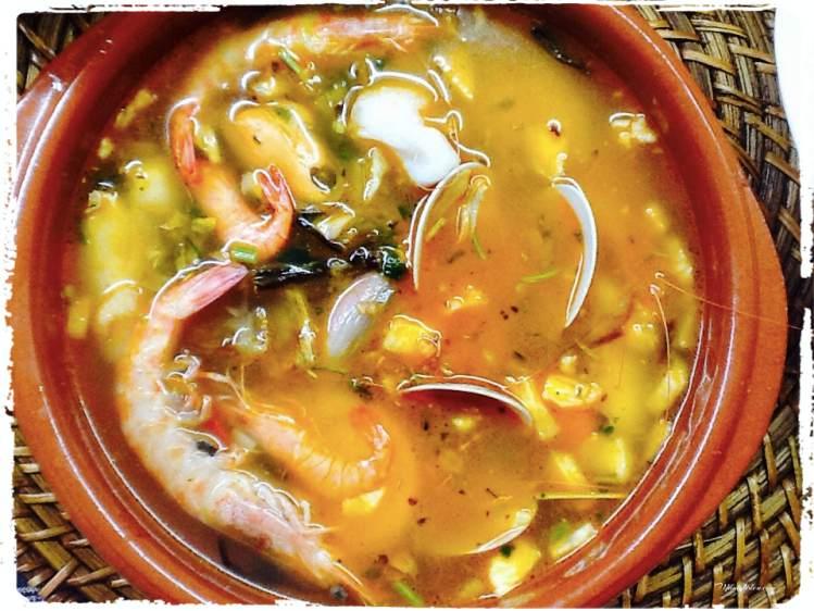 Sopa de pescado con quisquillas_ SopasFotor