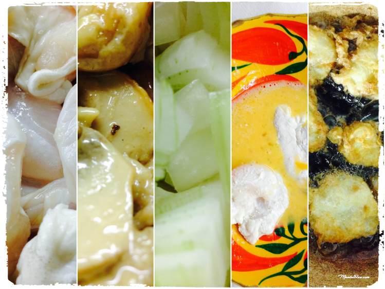 Kokotxas de bacalao en salsa de hongos Elaboración_Fotor