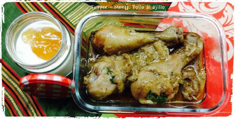 Pollo al ajillo Tupper - Menú