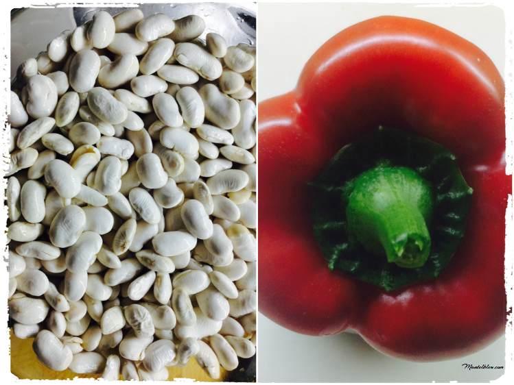 Alubias blancas de la Granja Ingredientes_Fotor