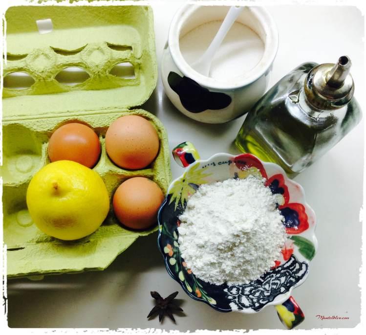 Rosquillas caseras Ingredientes