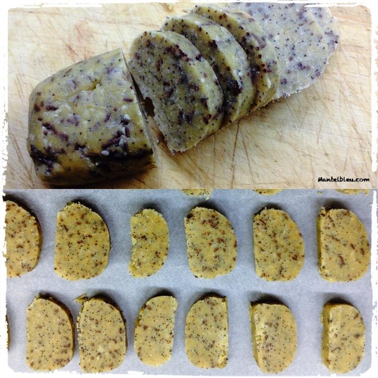 Cookies con semillas de amapola y chocolate Elaboración_Fotor