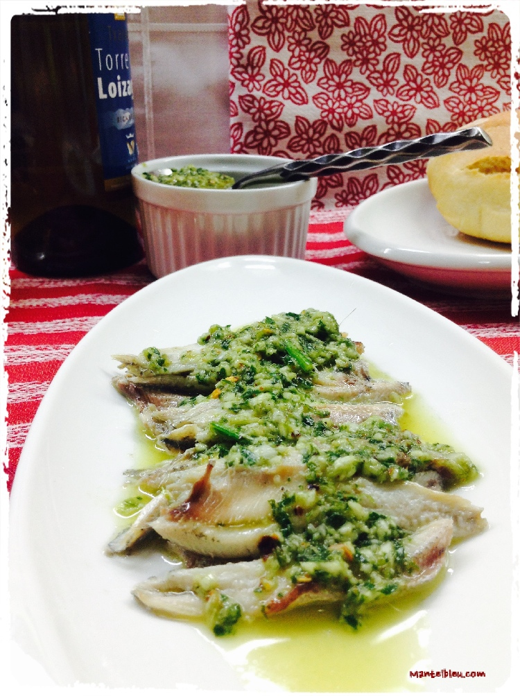 Anchoas asadas 5