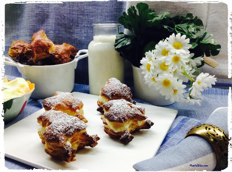 Ranitas crujientes rellenas de crema de mantequilla 1