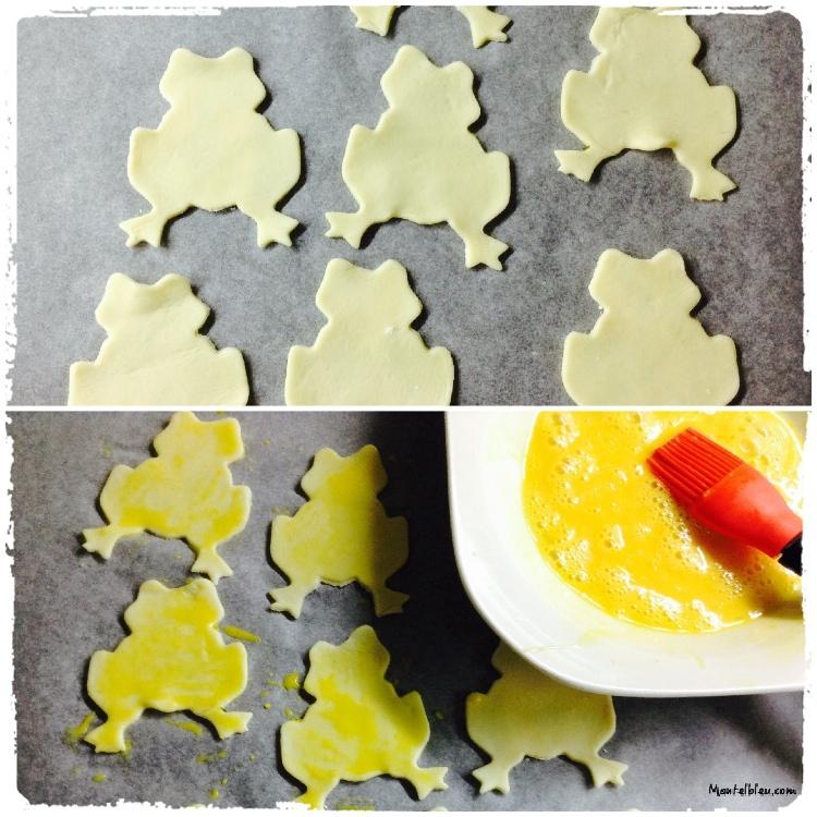 Ranitas crujientes rellenas de crema de mantequilla Elaboración 3_Fotor