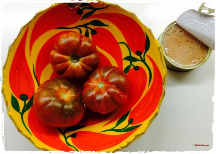 Ensalada en tomates Ingredientes