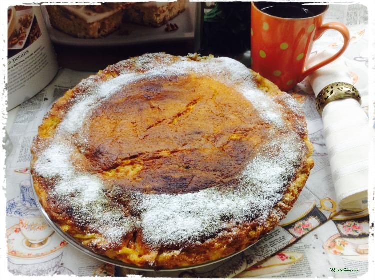 Tarta de albaricoques elaboración