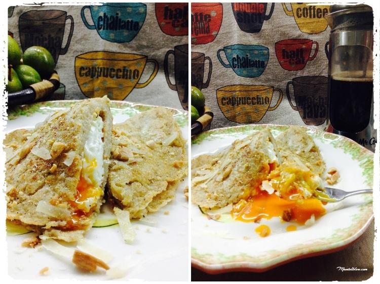 Tortitas con huevo y parmesano 3_Fotor