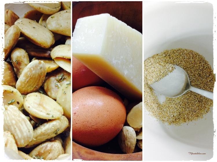 Tortitas con huevo y parmesano Ingredientes_Fotor